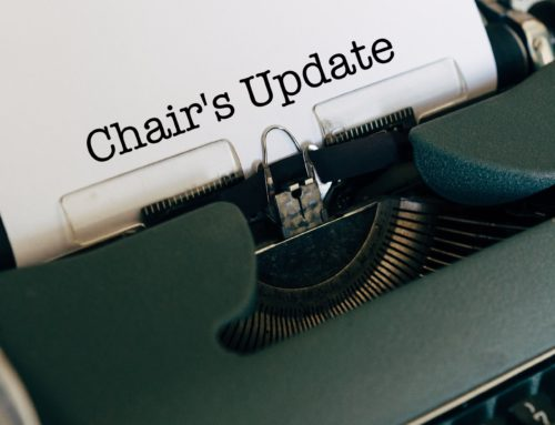 Chair's Update: May 2020